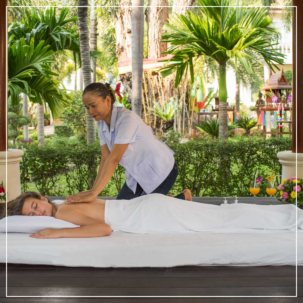 Traditional Thai MassagesFacilities & Services at Thai Garden Resort in Pattaya Thailand